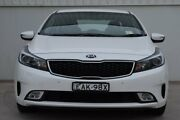 2017 Kia Cerato YD MY17 S White 6 Speed Sports Automatic Sedan Rutherford Maitland Area Preview