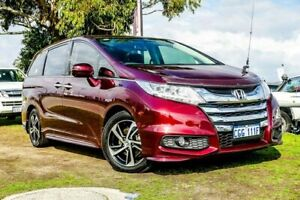 2014 Honda Odyssey RC MY14 VTi-L Maroon 7 Speed Constant Variable Wagon Wangara Wanneroo Area Preview
