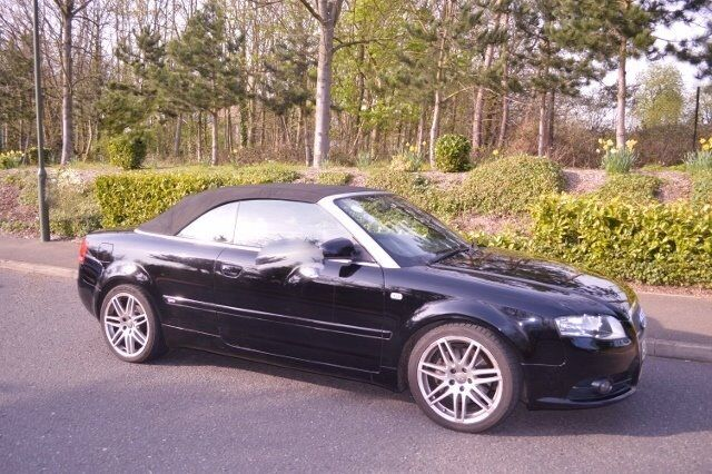 A4 convertible S line Special edition