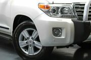 2012 Toyota Landcruiser VDJ200R MY12 Sahara White 6 Speed Sports Automatic Wagon Hamilton East Newcastle Area Preview