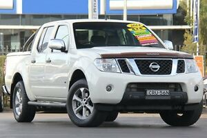 2014 Nissan Navara D40 MY12 ST-X 550 (4x4) White 7 Speed Automatic Dual Cab Utility Penrith Penrith Area Preview