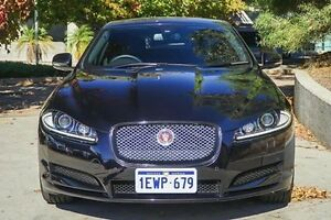 2014 Jaguar XF X250 MY14 Premium Luxury Black 8 Speed Sports Automatic Sedan Glendalough Stirling Area Preview