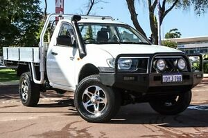 2007 Mitsubishi Triton ML MY08 GLX White 4 Speed Automatic Cab Chassis Wilson Canning Area Preview
