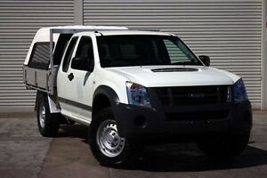 2011 Isuzu D-MAX MY11 SX Space Cab White 5 Speed Manual Cab Chassis Seaford Frankston Area Preview