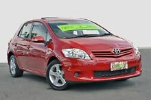 2011 Toyota Corolla  Red Automatic Hatchback Tweed Heads 2485 Tweed Heads Area Preview