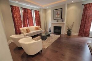 Beautifully Furnished 4 + 1 Home For Lease In Toronto