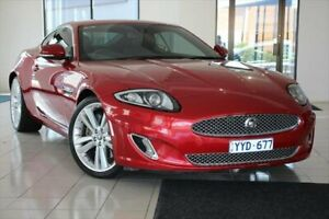 2012 Jaguar XK X150 MY12 Red 6 Speed Sports Automatic Coupe
