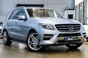 2015 Mercedes-Benz ML350 W166 MY805 BlueTEC 7G-Tronic + Silver 7 Speed Sports Automatic Wagon Port Melbourne Port Phillip Preview