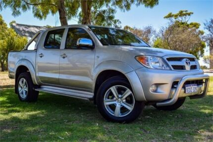 2005 Toyota Hilux GGN25R SR5 (4x4) Silver 5 Speed Automatic Dual Cab Pick-up Rockingham Rockingham Area Preview