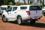 2016 Mitsubishi Triton MQ MY16 GLX Double Cab White 5 Speed Sports Automatic Utility Cannington Canning Area Preview