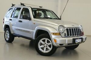 2005 Jeep Cherokee KJ MY05 Upgrade Limited (4x4) Silver 5 Speed Automatic Wagon Hillman Rockingham Area Preview