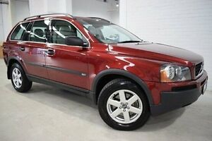 2006 Volvo XC90 P28 MY06 Lifestyle T Red 5 Speed Sports Automatic Wagon West Launceston Launceston Area Preview