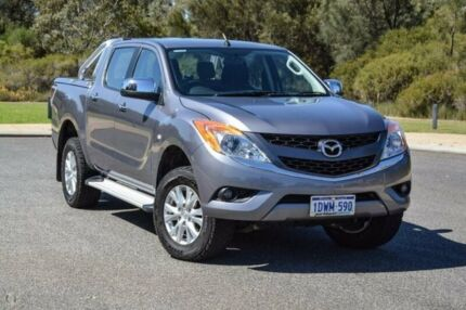 2012 Mazda BT-50 UP0YF1 XTR Green 6 Speed Sports Automatic Utility Wilson Canning Area Preview