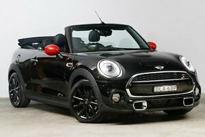 2016 Mini Convertible F57 Cooper S Midnight Black 6 Speed Sports Automatic Convertible Alexandria Inner Sydney Preview