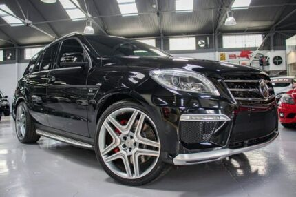 2012 Mercedes-Benz ML63 AMG 166 4x4 Obsidian Black 7 Speed Automatic Wagon Port Melbourne Port Phillip Preview