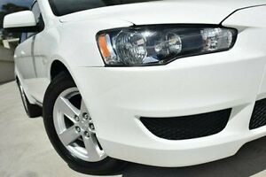 2013 Mitsubishi Lancer CJ MY13 ES White 6 Speed Constant Variable Sedan Thornleigh Hornsby Area Preview