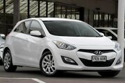 2013 Hyundai i30 GD Active White 6 Speed Sports Automatic Hatchback Christies Beach Morphett Vale Area Preview