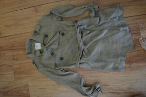 Abercrombie & fitch trench jacket NEVER WORN Kingston Kingston Area image 1