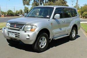2000 Mitsubishi Pajero NM Exceed Silver 5 Speed Sports Automatic Wagon West Footscray Maribyrnong Area Preview