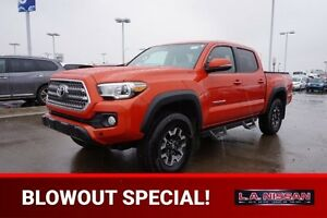 2017 Toyota Tacoma 4X4 DOUBLECAB TRD Accident Free,  Navigation