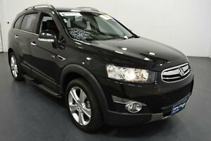 2012 Holden Captiva CG Series II 7 LX (4x4) Carbon Flash Black 6 Speed Automatic Wagon Moorabbin Kingston Area Preview