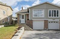 Awesome 5 Level Semi-Detached Back-split Home In Mature Area!