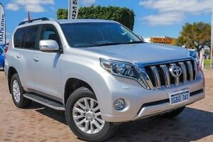 2015 Toyota Landcruiser Prado KDJ150R MY14 VX Silver 5 Speed Sports Automatic Wagon Embleton Bayswater Area Preview