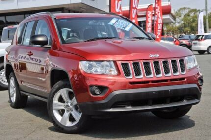 2012 Jeep Compass MK MY13 Sport Maroon 5 Speed Manual Wagon Beaudesert Ipswich South Preview