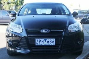 2013 Ford Focus LW MKII Trend PwrShift Black 6 Speed Sports Automatic Dual Clutch Hatchback Ringwood East Maroondah Area Preview