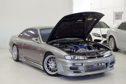 1997 Nissan 200SX S14 S2 Limited Silver 5 Speed Manual Coupe Myaree Melville Area Preview