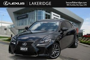 2017 Lexus IS 300 F Sport 2, One Owner Navi / Leather / Roof / B