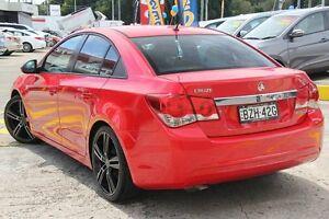 2011 Holden Cruze JH CD Red 6 Speed Manual Sedan Wolli Creek Rockdale Area Preview