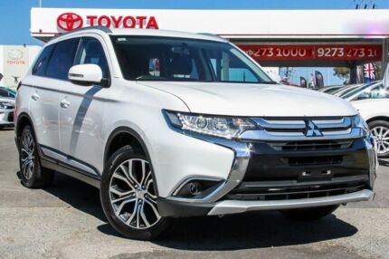 2015 Mitsubishi Outlander ZJ MY14.5 LS (4x2) Starlight Continuous Variable Wagon Osborne Park Stirling Area Preview