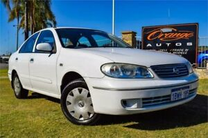 2005 Nissan Pulsar N16 MY04 ST White 4 Speed Automatic Sedan Greenfields Mandurah Area Preview