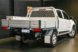 2012 Holden Colorado RG MY13 LX Crew Cab White 6 Speed Sports Automatic Utility Northbridge Perth City Area Preview
