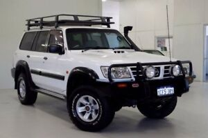 2004 Nissan Patrol GU III MY2003 ST White 4 Speed Automatic Wagon Myaree Melville Area Preview