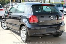 2012 Volkswagen Polo 6R MY12.5 77TSI DSG Comfortline Black 7 Speed Sports Automatic Dual Clutch Hatc Willagee Melville Area Preview