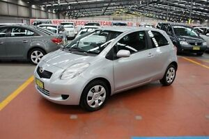 2005 Toyota Yaris NCP91R YRS Silver 5 Speed Manual Hatchback Maryville Newcastle Area Preview