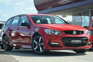 2016 Holden Commodore Vfii MY16 SV6 Black Edition Red 6 Speed Automatic Sportswagon Waitara Hornsby Area Preview