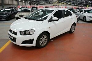 2013 Holden Barina TM MY13 CD White 5 Speed Manual Sedan Maryville Newcastle Area Preview