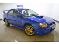 SUBARU IMPREZA 2.0 WRX STI TYPE UK 4d 265 BHP (blue) 2004