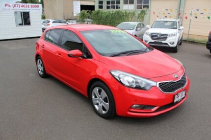 2015 Kia Cerato YD MY15 SI Red 6 Speed Sports Automatic Hatchback