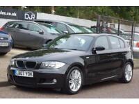 2007 07 BMW 1 SERIES 2.0 120D M SPORT 5D 175 BHP DIESEL