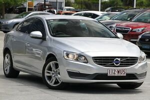 2014 Volvo S60 F Series MY14 T4 PwrShift Kinetic Silver 6 Speed Sports Automatic Dual Clutch Sedan Moorooka Brisbane South West Preview