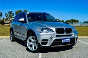 2012 BMW X5 E70 MY12 Upgrade xDrive 30D Silver 8 Speed Automatic Sequential Wagon Rockingham Rockingham Area Preview