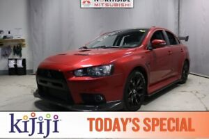 2015 Mitsubishi Lancer Evolution AWC FINAL EDITION Heated Seats,
