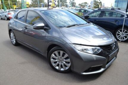 2012 Honda Civic 9th Gen VTi-L Grey 5 Speed Sports Automatic Hatchback Hoppers Crossing Wyndham Area Preview