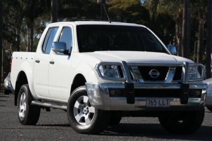 2008 Nissan Navara D40 ST-X White 5 Speed Automatic Utility Beaudesert Ipswich South Preview