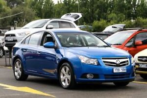 2011 Holden Cruze JH Series II MY11 CDX Blue 6 Speed Sports Automatic Sedan Ringwood East Maroondah Area Preview