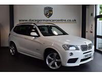 2013 63 BMW X3 3.0 XDRIVE30D M SPORT 5DR AUTO 255 BHP DIESEL